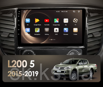 Junsun 4G Android магнитола для   Mitsubishi L200 5 2015 - 2019