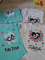 Туніка для дівчаток Tik Tok Бірюза Сіра ріст 128,134,140,146,152