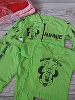 Спортивний костюм трійка  для дівчинки Mini 74-80.86-92. 98-104. 110-116
