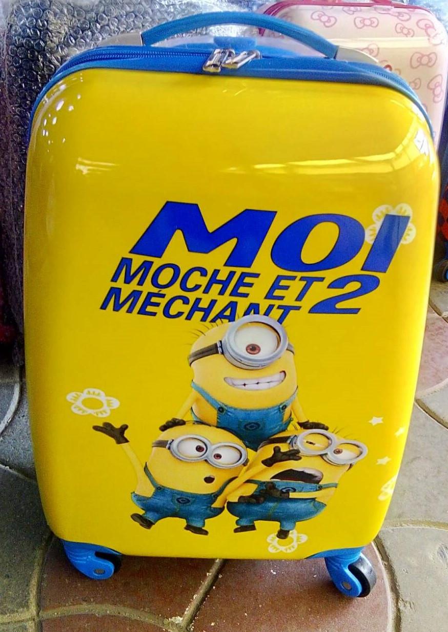 Детский чемодан на колёсах Minion (Миньоны)
