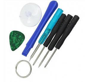 Набор инструментов для телефонов и планшетов  (4 отвертки, 1 медиатора, 1 лопатки и присоска)