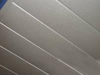 Потолок Alubest реечный алюминиевый Омега 100мм, 4м, металлик