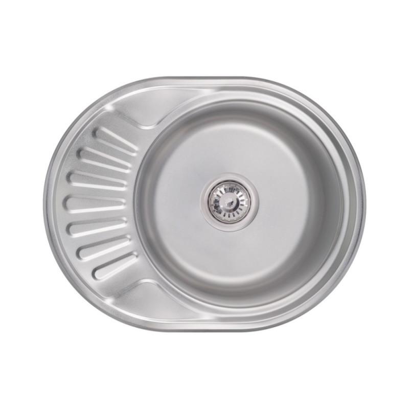Кухонная мойка Lidz 5745 Satin 0,6 мм (LIDZ574506SAT)