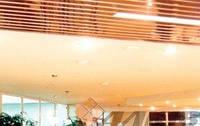 Потолок Alubest реечный алюминиевый Омега 100мм, 4м, супер-хром