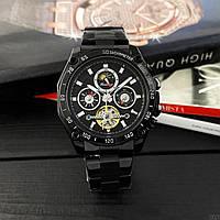 Наручные часы Forsining 6913 All Black Механика с автоподзаводом Оригинал