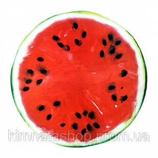 Пляжний Килимок Кавун 150 см червоний з зеленим