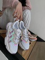Женские Кроссовки Adidas Ozweego White (AAA+) 38-39-40