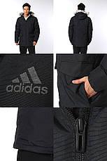 Мужская утепленная куртка Adidas Long Fur, фото 2