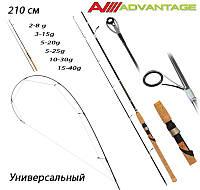 Спінінг Advantage Fishing Roi 210cm (2-8г, 3-15г, 5-20г, 5-25г, 10-30г, 15-40г) Універсальний
