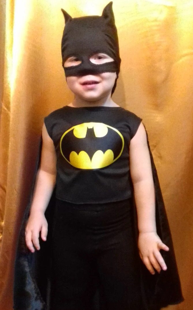 Детский карнавальный костюм для мальчика Бэтмен от 3 лет