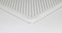 Потолок Alubest подвесной кассет. алюм. 600х600мм, белый мат., перф. 3,0мм