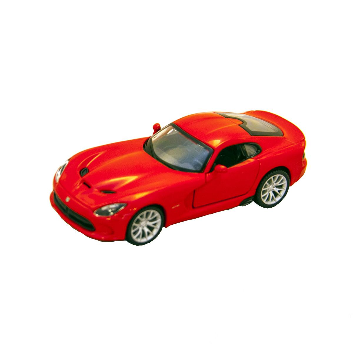 Bburago Автомодель Srt Viper Gts 2013 красный, 1:32, 18-43033