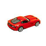 Bburago Автомодель Srt Viper Gts 2013 красный, 1:32, 18-43033, фото 2