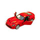 Bburago Автомодель Srt Viper Gts 2013 красный, 1:32, 18-43033, фото 3