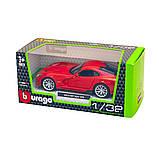 Bburago Автомодель Srt Viper Gts 2013 красный, 1:32, 18-43033, фото 6