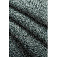 Ткань лен  мешковина темно  серый, высота 2.8м