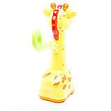 Игрушка-каталка Kiddieland - Аккуратный жираф, 052365, фото 2