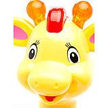 Игрушка-каталка Kiddieland - Аккуратный жираф, 052365, фото 3