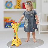 Игрушка-каталка Kiddieland - Аккуратный жираф, 052365, фото 4