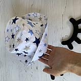 Хлопковая панамка от солнца размер 52-54 см, фото 2