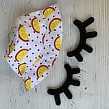 Хлопковая панамка от солнца размер 52-54 см, фото 3