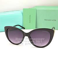 Женские солнцезащитные очки Tiffany & Co эффектная модель 2020 года Тиффани качественная реплика