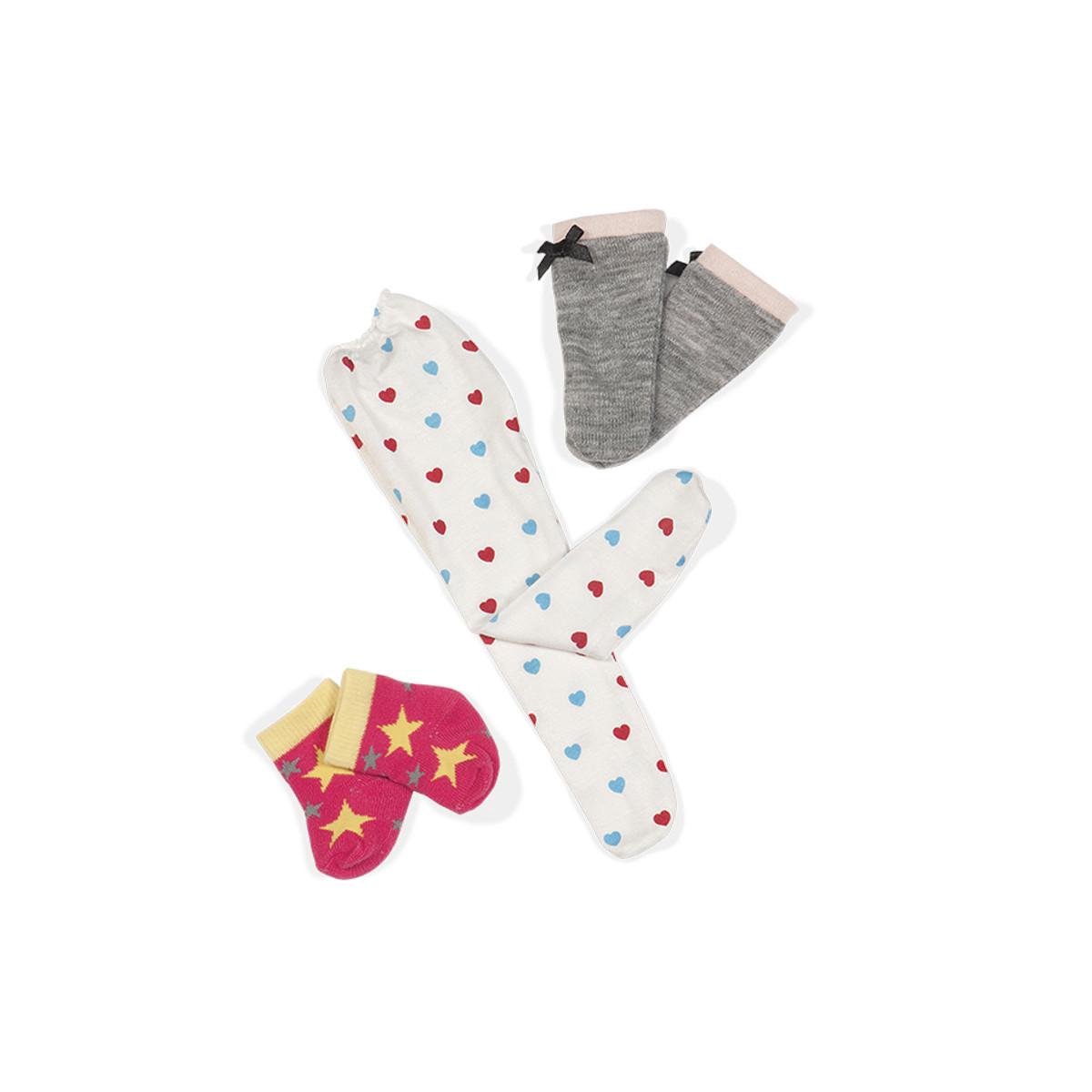 Мини-набор аксессуаров для куклы Our Generation - Носочки-чулочки, BD37075Z