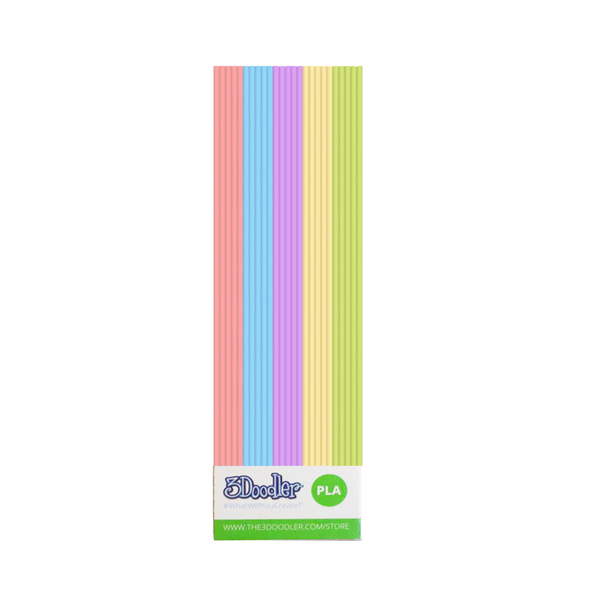 3Doodler Create Набор стержней из Pla-пластика - Пастель, 25 шт, PL-MIX14