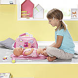Сумка Мамина забота для куклы Baby Born, 824436, фото 8