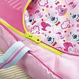 Люлька-переноска Яркие сны для куклы Baby Born 2 в 1, 824429, фото 6