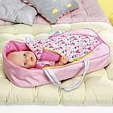 Люлька-переноска Яркие сны для куклы Baby Born 2 в 1, 824429, фото 8