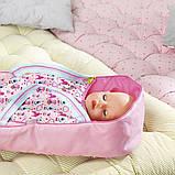 Люлька-переноска Яркие сны для куклы Baby Born 2 в 1, 824429, фото 9