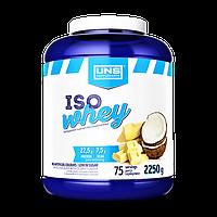 Сывороточный протеин изолят UNS Iso Whey 2270 g УНС протеин изолят для сушки и похудения