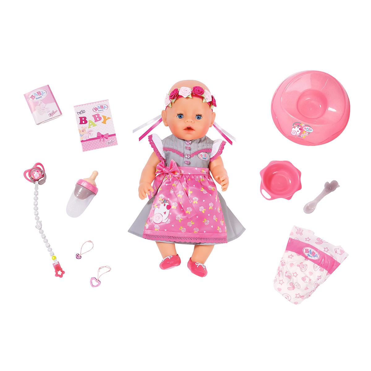 Кукла Baby Born Нарядная малышка - серии Нежные объятия, 827451