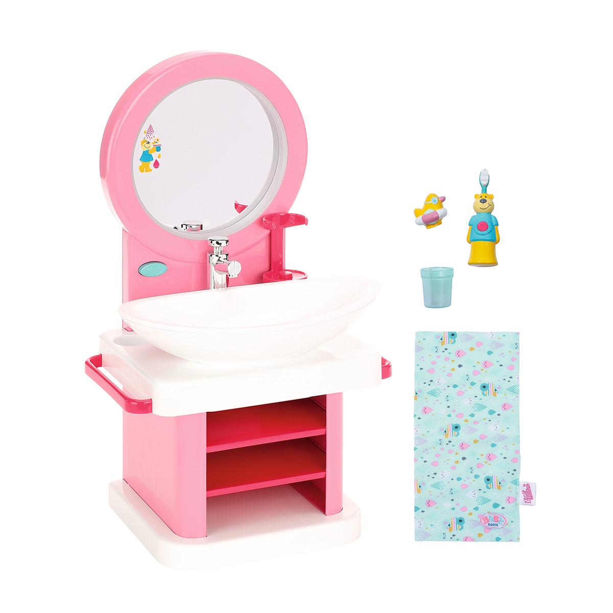 Интерактивный умывальник Водные забавы для куклы Baby Born, 827093