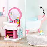 Интерактивный умывальник Водные забавы для куклы Baby Born, 827093, фото 4