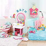 Интерактивный умывальник Водные забавы для куклы Baby Born, 827093, фото 5