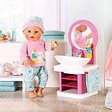 Интерактивный умывальник Водные забавы для куклы Baby Born, 827093, фото 7