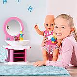 Интерактивный умывальник Водные забавы для куклы Baby Born, 827093, фото 10