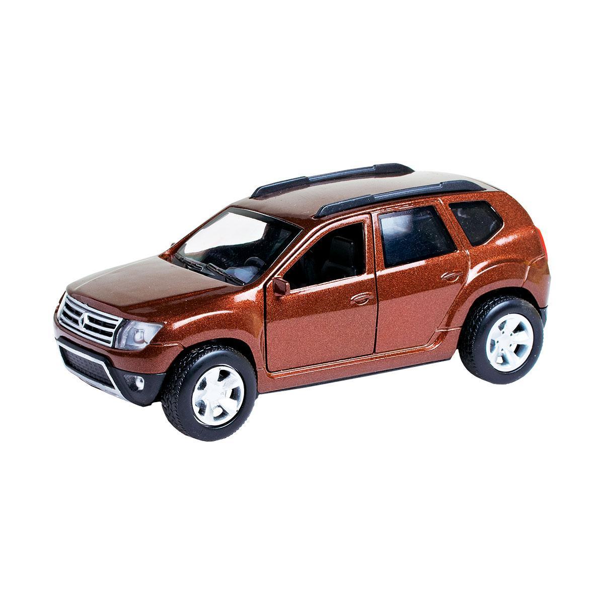 Technopark Автомодель Renault Duster-M коричневый 1:32, DUSTER-MBr