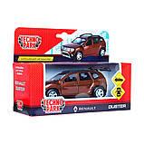 Technopark Автомодель Renault Duster-M коричневый 1:32, DUSTER-MBr, фото 2