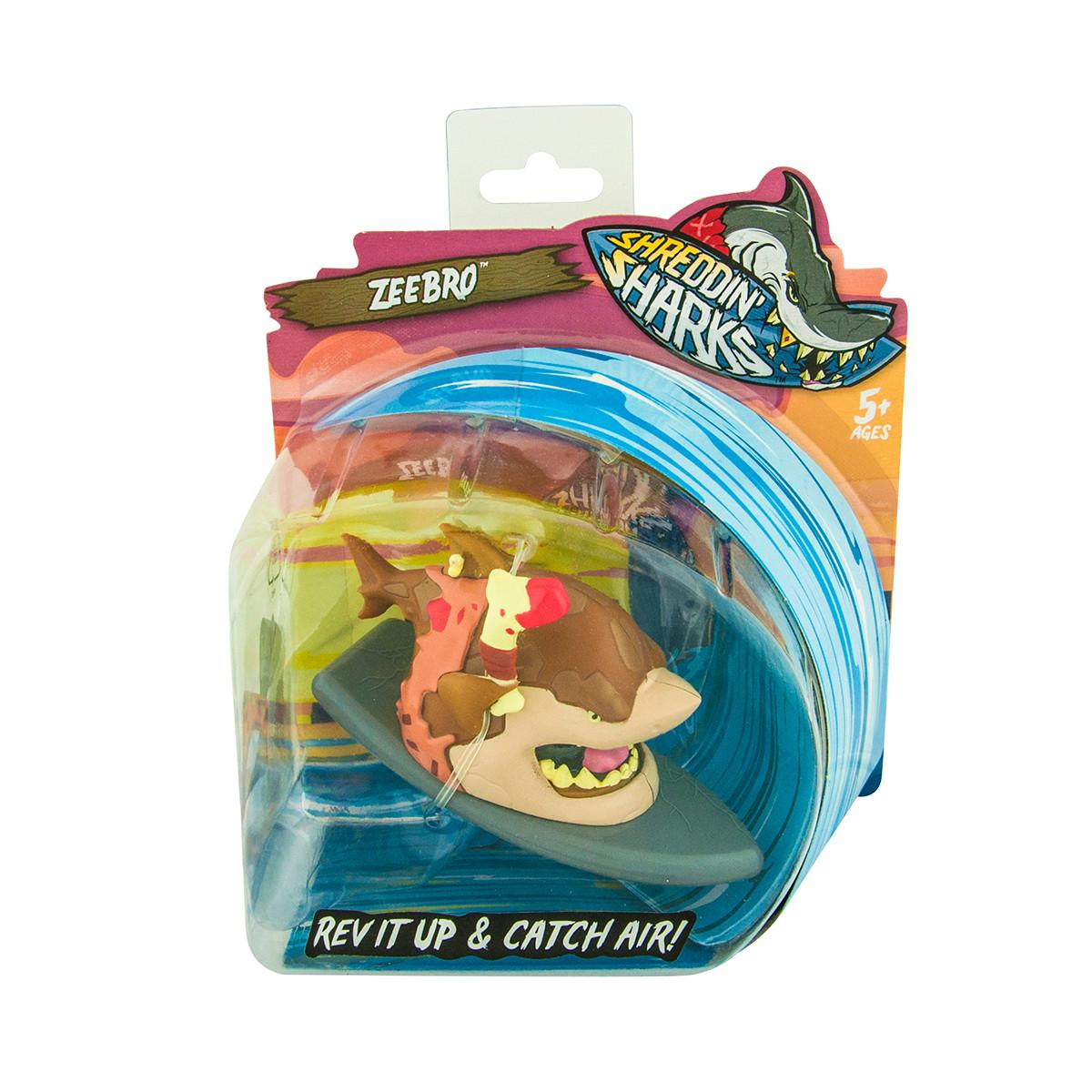 Shreddin' Sharks Фингерборд с фигуркой - Zeebro, 561941