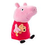 Peppa Мягкая озвученная игрушка - Пеппа с игрушкой, 30 см, 30117, фото 2