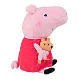 Peppa Мягкая озвученная игрушка - Пеппа с игрушкой, 30 см, 30117, фото 3