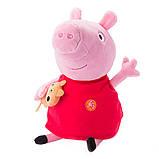 Peppa Мягкая озвученная игрушка - Пеппа с игрушкой, 30 см, 30117, фото 5