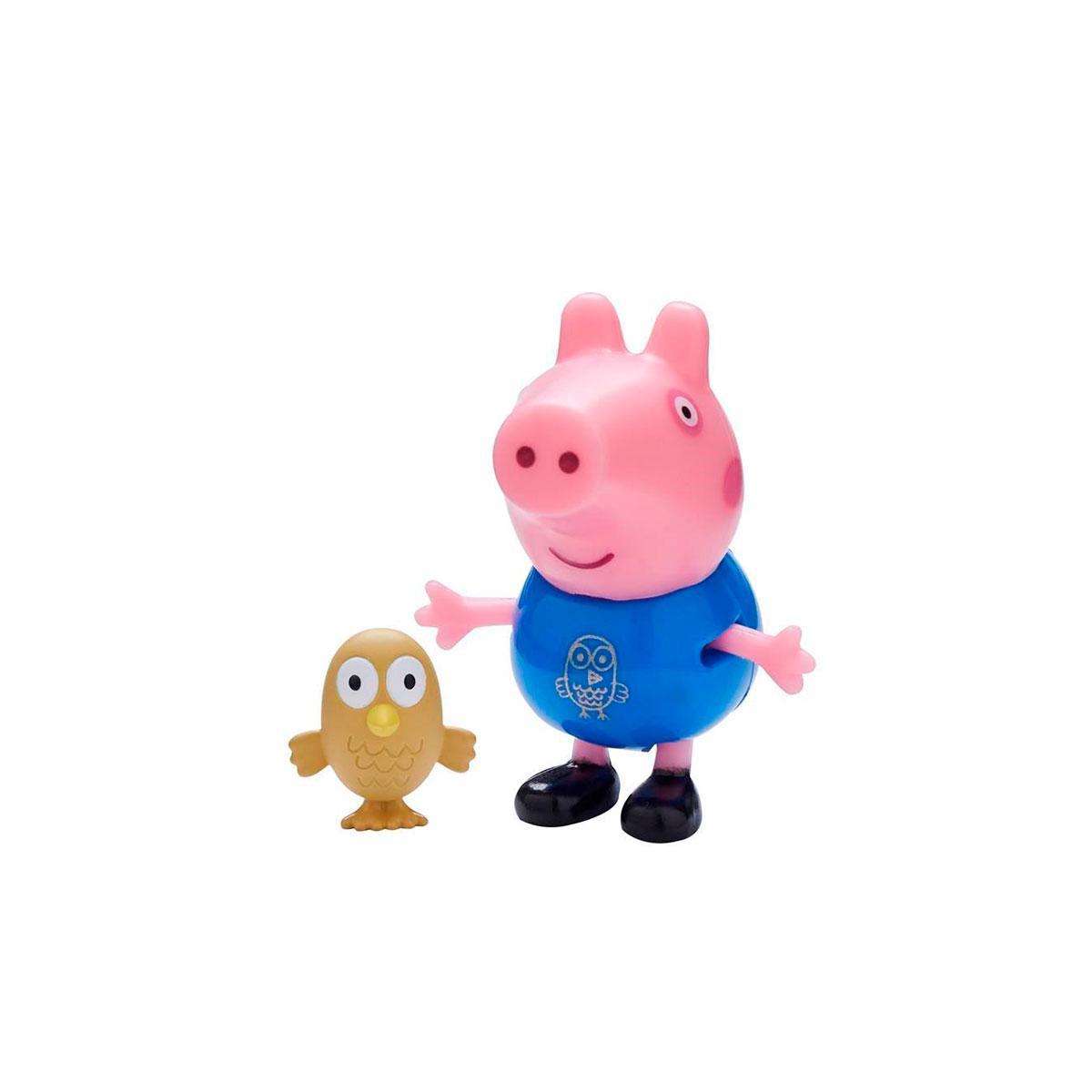 Peppa Фигурка - Джордж с совой, 06918-3