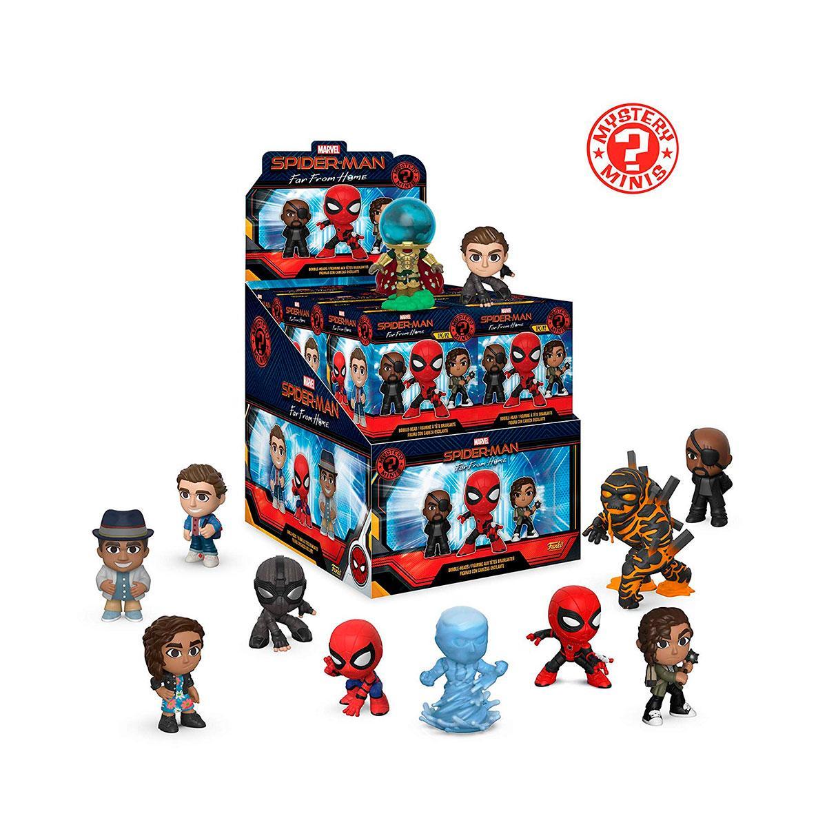 Funko Mystery Minis Игровая фигурка Человек-Паук: Вдали От Дома, 39351