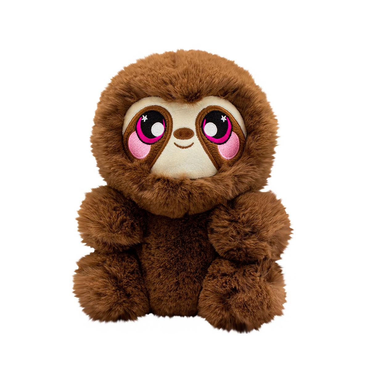 Squeezamals Ароматная мягкая игрушка Ленивец Сидни - серии 3-Deez Deluxe, SQ00937-5008