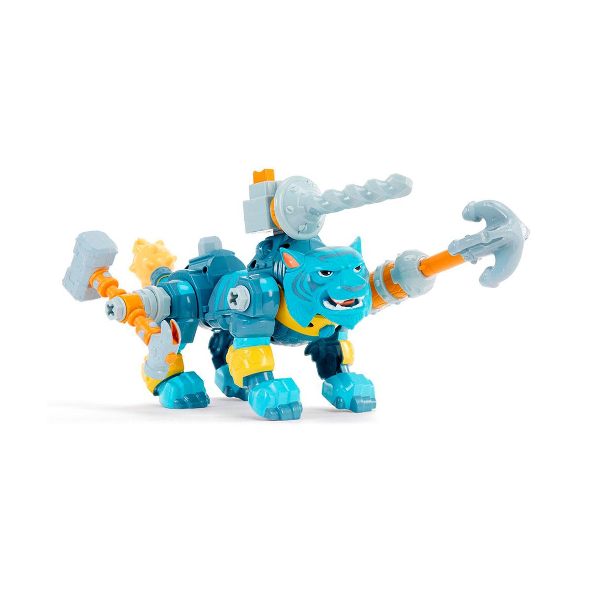 Kingdom Builders Игровой набор с фигуркой Свирепый Тигр, 647086