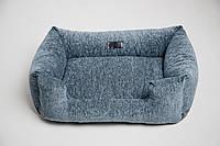 Лежанка (лежак) для крупных и мелких собак/котов. Спальное место кровать для собаки/кота KIT&PES (kp-003)